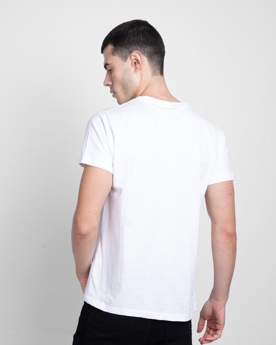 Shop Color Wave Half Sleeve T-Shirt-Back