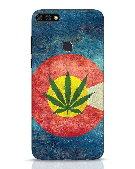 Shop Colorado Flag Huawei Honor 7C Mobile Cover-Front