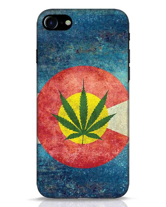 Shop Colorado Flag iPhone 7 Mobile Cover-Front
