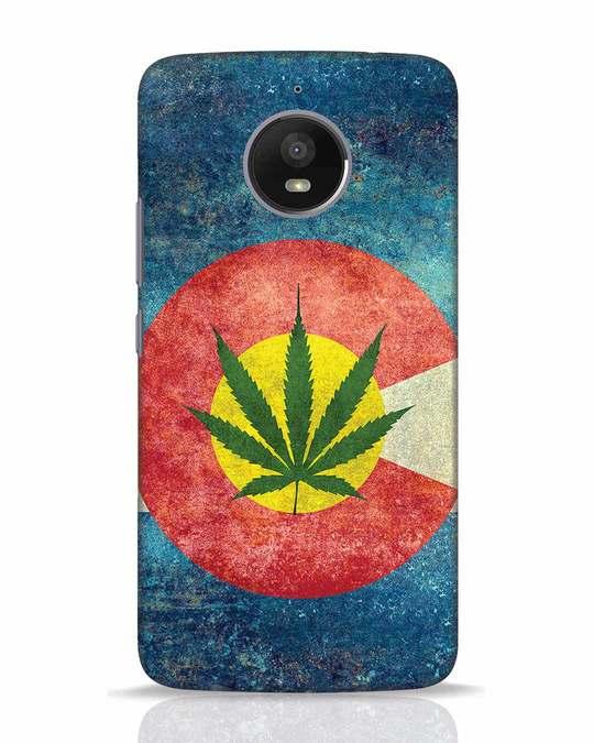 Shop Colorado Flag Moto E4 Plus Mobile Cover-Front