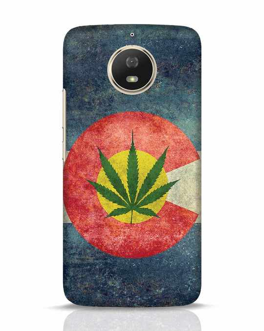 Shop Colorado Flag Moto G5s Mobile Cover-Front