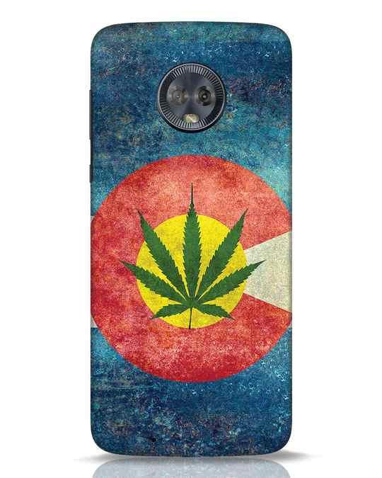Shop Colorado Flag Moto G6 Mobile Cover-Front