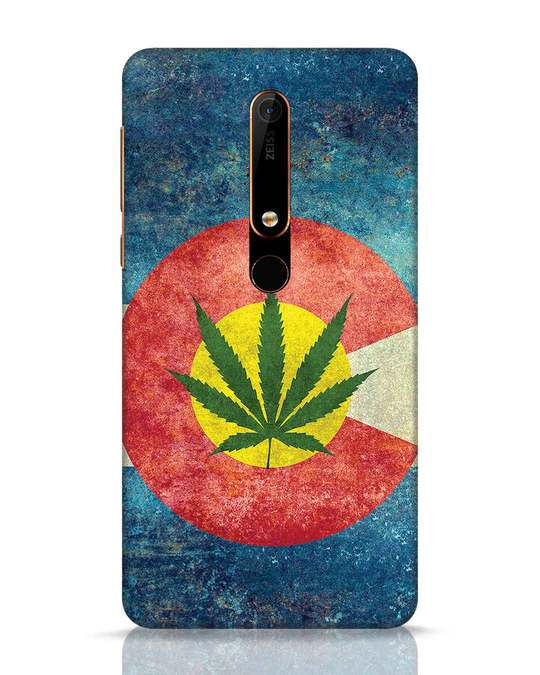 Shop Colorado Flag Nokia 6.1 Mobile Cover-Front