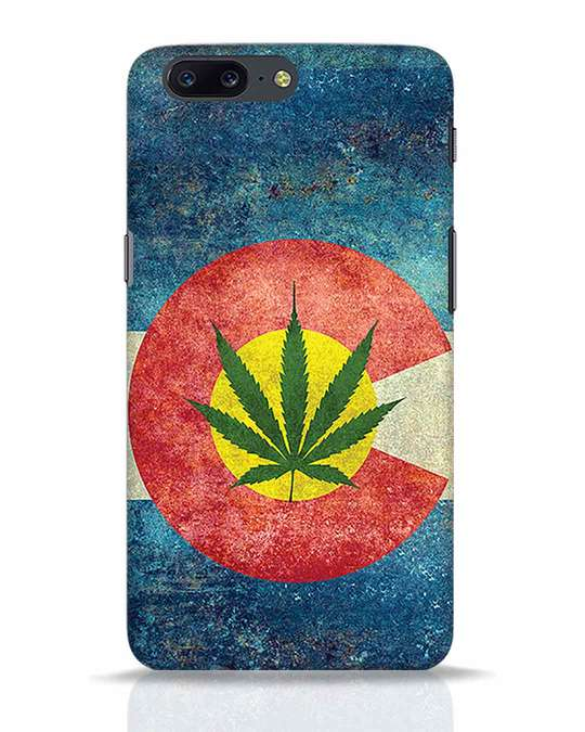 Shop Colorado Flag OnePlus 5 Mobile Cover-Front