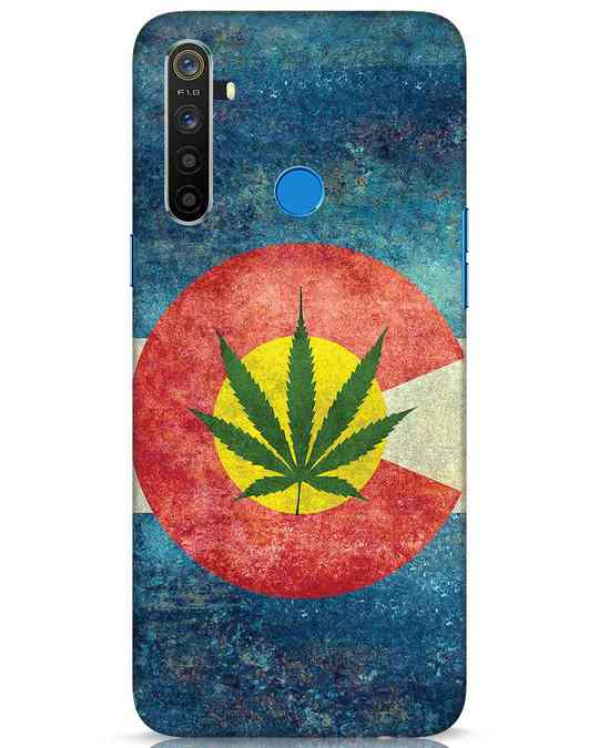 Shop Colorado Flag Realme 5 Mobile Cover-Front