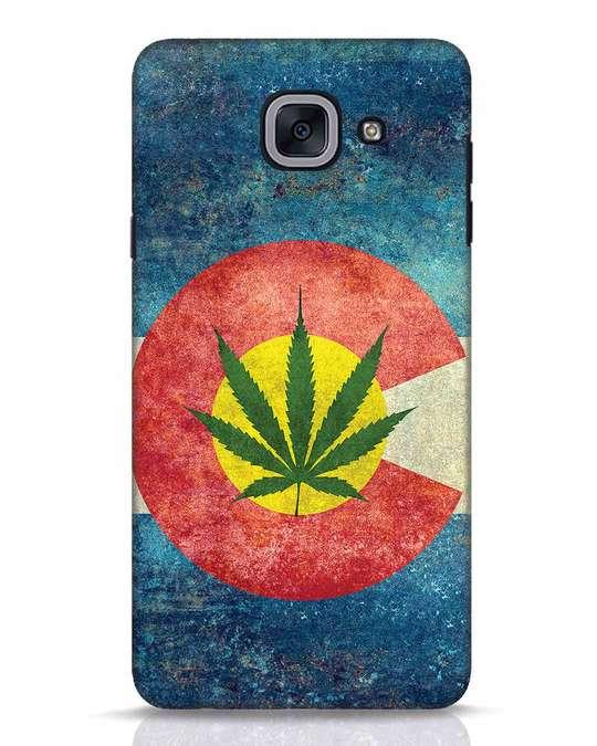 Shop Colorado Flag Samsung Galaxy J7 Max Mobile Cover-Front