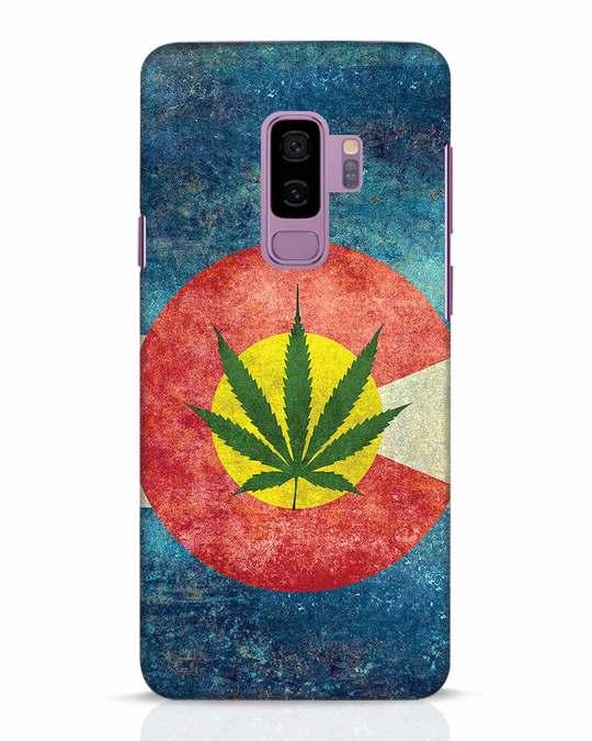 Shop Colorado Flag Samsung Galaxy S9 Plus Mobile Cover-Front
