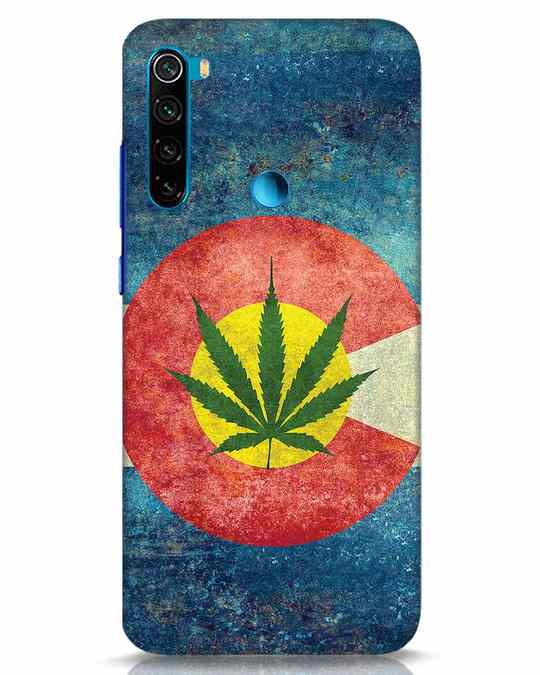 Shop Colorado Flag Xiaomi Redmi Note 8 Mobile Cover-Front