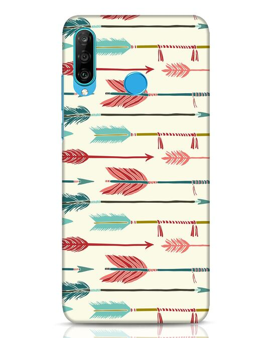 Shop Colorful Arrows Huawei P30 Lite Mobile Cover-Front