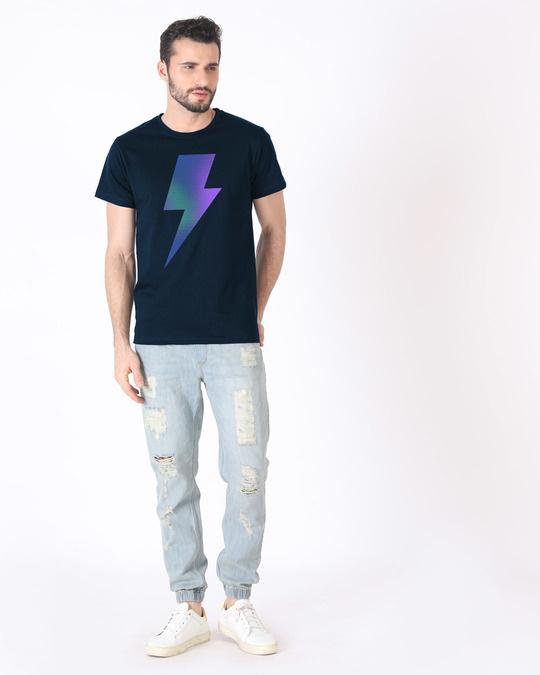 Shop Colorful Bolt Half Sleeve T-Shirt