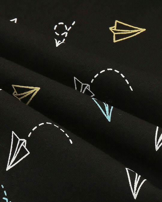 Shop Colorful Paperplanes All Over Printed Boxer