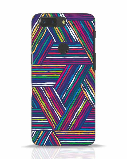 Shop Colorful Pattern OnePlus 5T Mobile Cover-Front