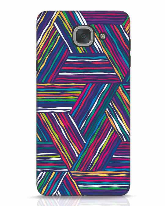 Shop Colorful Pattern Samsung Galaxy J7 Max Mobile Cover-Front