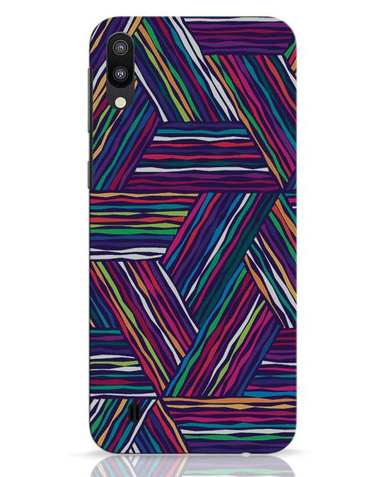 Shop Colorful Pattern Samsung Galaxy M10 Mobile Cover-Front