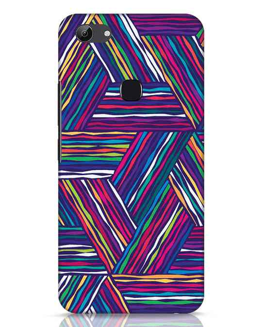 Shop Colorful Pattern Vivo Y83 Mobile Cover-Front