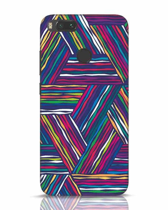 Shop Colorful Pattern Xiaomi Mi A1 Mobile Cover-Front