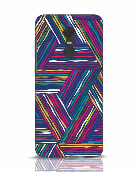 Shop Colorful Pattern Xiaomi Redmi Note 5 Mobile Cover-Front