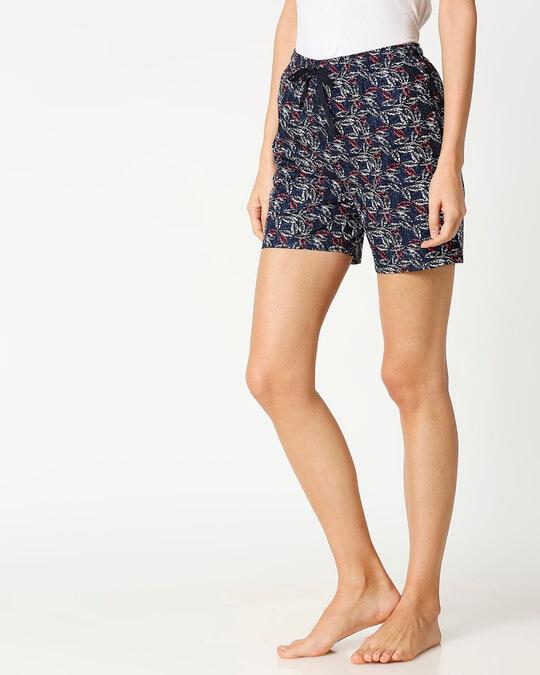 Shop Colorful Vines Women's Boxer Shorts-Design