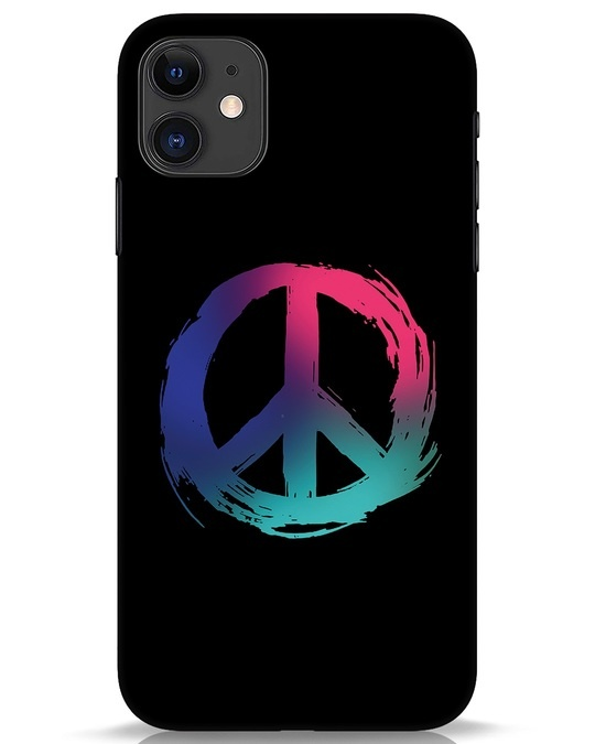 Shop Colors Of Peace iPhone 11 Mobile Cover-Front