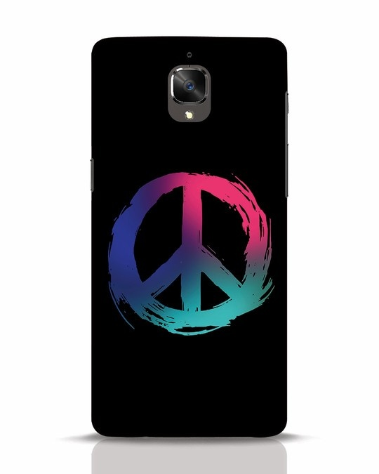 Shop Colors Of Peace OnePlus 3 Mobile Cover-Front