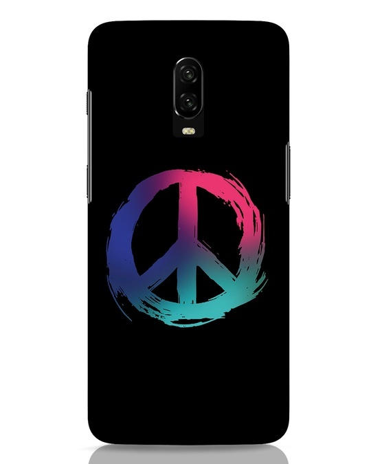 Shop Colors Of Peace OnePlus 6T Mobile Cover-Front