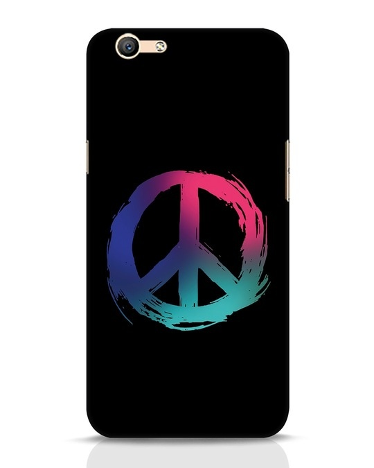 huge selection of 4f5f1 d3042 Colors Of Peace Oppo F1s Mobile Cover