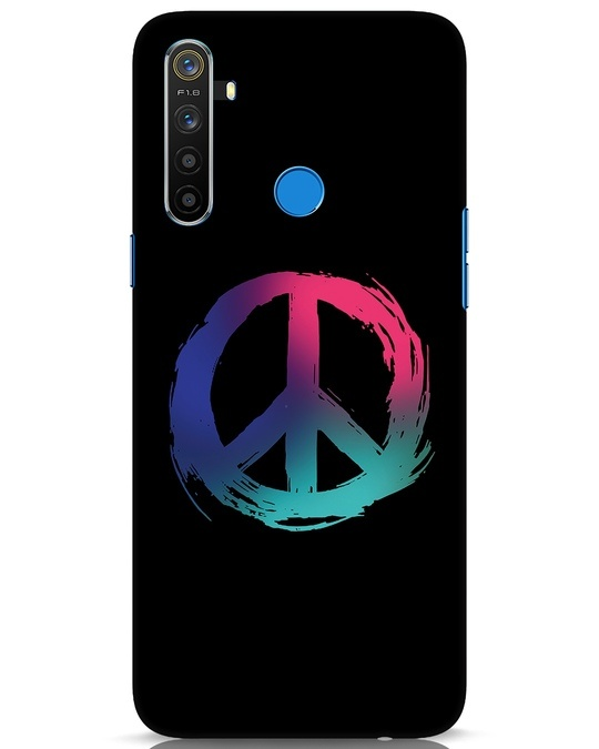Shop Colors Of Peace Realme 5 Mobile Cover-Front