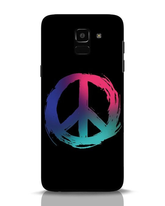 Shop Colors Of Peace Samsung Galaxy J6 Mobile Cover-Front