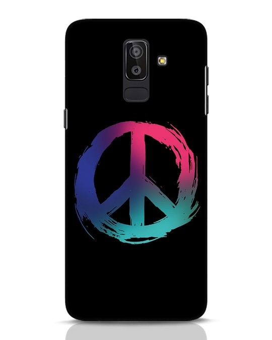 Shop Colors Of Peace Samsung Galaxy J8 Mobile Cover-Front