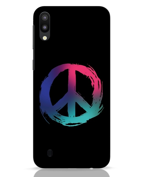 Shop Colors Of Peace Samsung Galaxy M10 Mobile Cover-Front