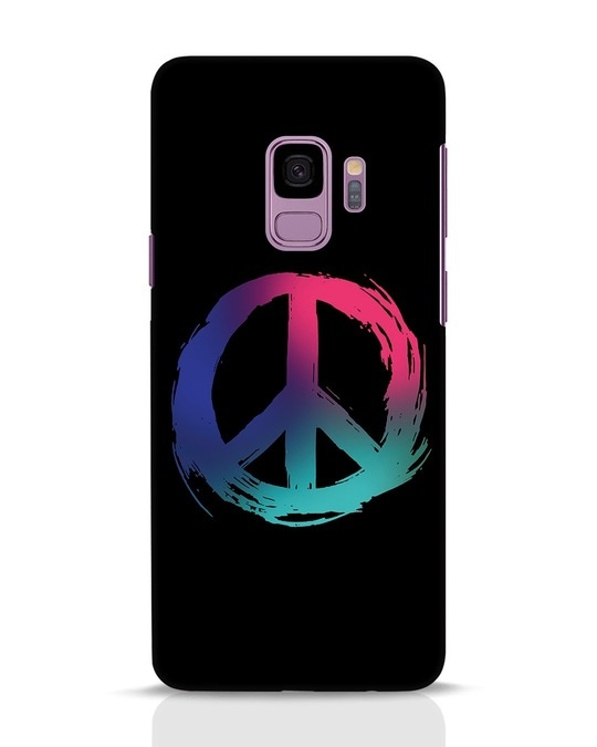 Shop Colors Of Peace Samsung Galaxy S9 Mobile Cover-Front