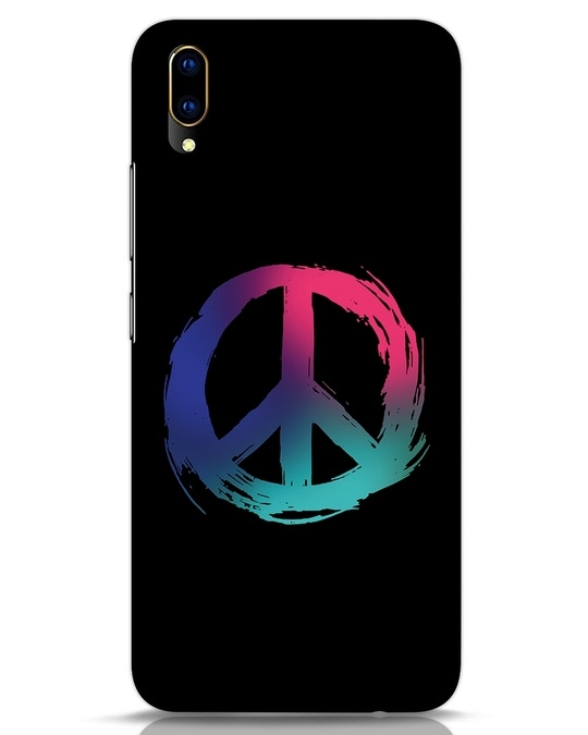 Shop Colors Of Peace Vivo V11 Pro Mobile Cover-Front