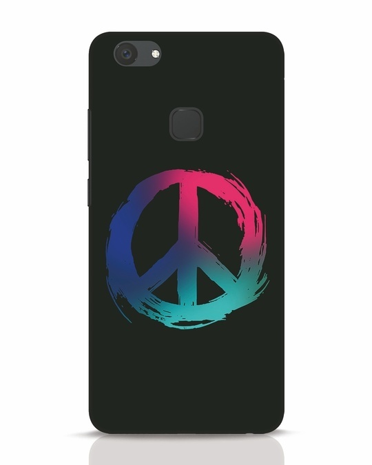Shop Colors Of Peace Vivo V7 Plus Mobile Cover-Front