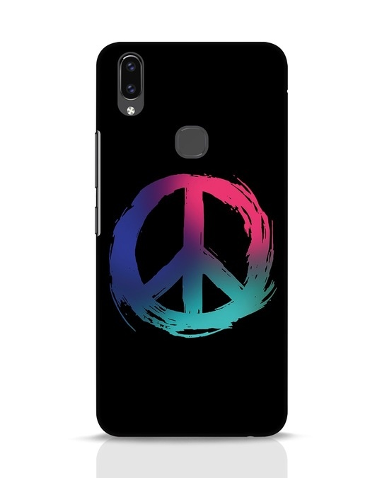 Shop Colors Of Peace Vivo V9 Mobile Cover-Front