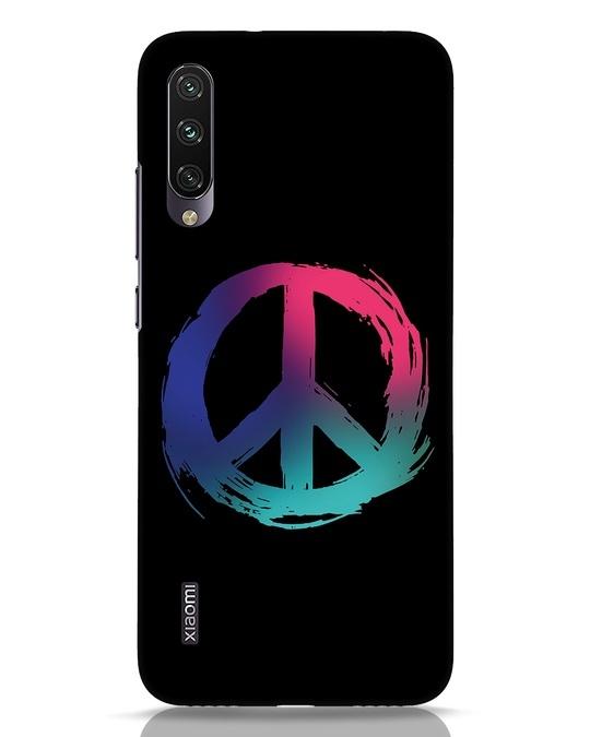 Shop Colors Of Peace Xiaomi Mi A3 Mobile Cover-Front