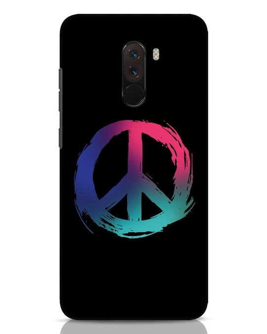 Shop Colors Of Peace Xiaomi POCO F1 Mobile Cover-Front