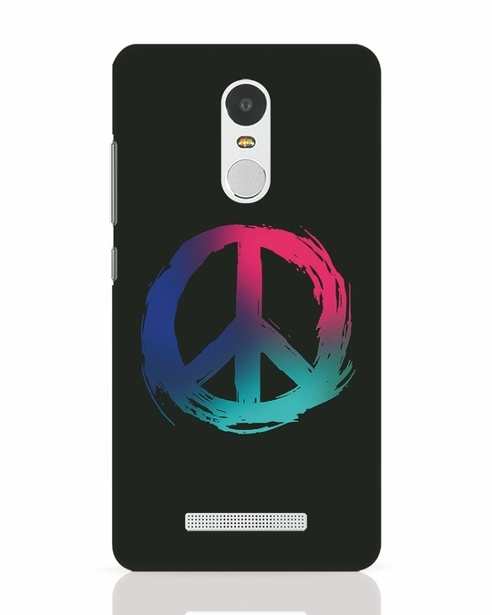 Shop Colors Of Peace Xiaomi Redmi Note 3 Mobile Cover-Front