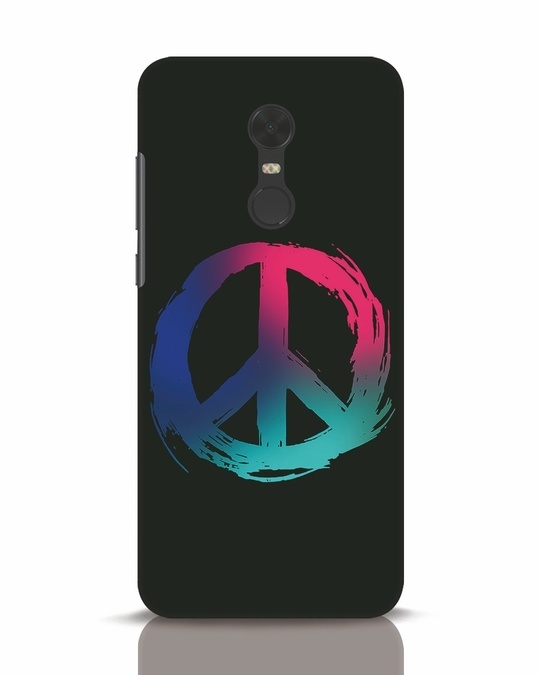 Shop Colors Of Peace Xiaomi Redmi Note 5 Mobile Cover-Front