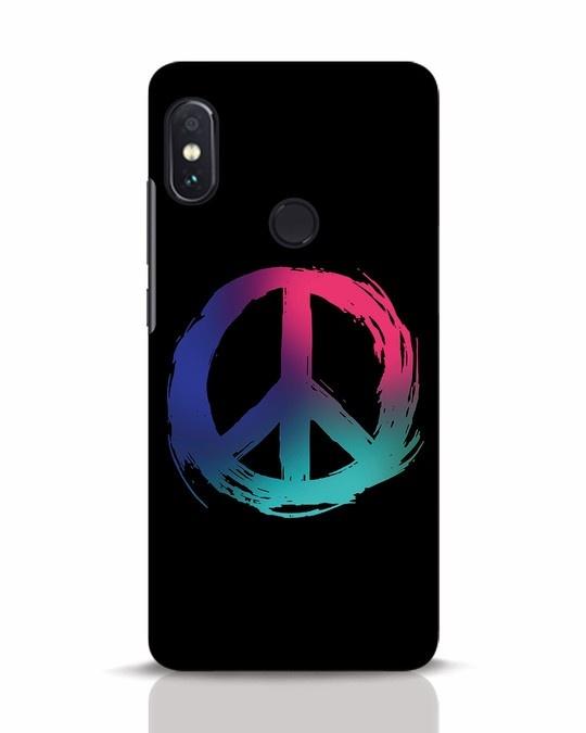 Shop Colors Of Peace Xiaomi Redmi Note 5 Pro Mobile Cover-Front