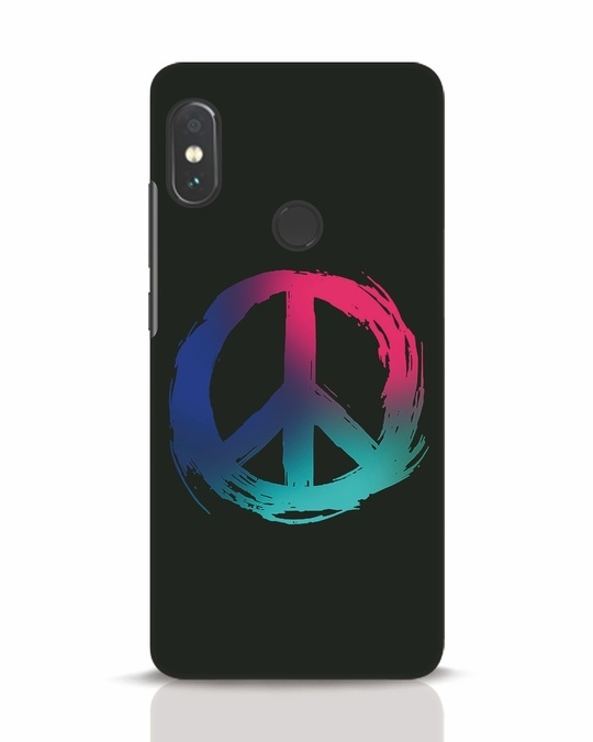 Shop Colors Of Peace Xiaomi Redmi Note 5 Pro Mobile Cover-Front