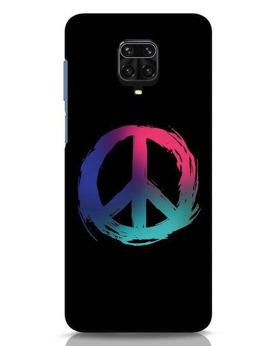 Shop Colors Of Peace Xiaomi Redmi Note 9 Pro Mobile Cover-Front