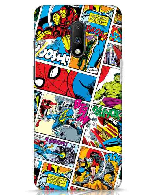 Shop Comic Page OnePlus 7 Mobile Cover (AVL)-Front