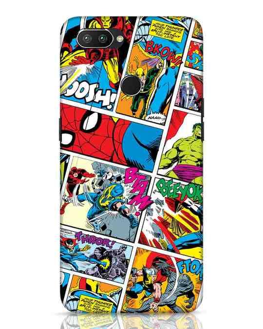 Shop Comic Page Realme 2 Pro Mobile Cover (AVL)-Front