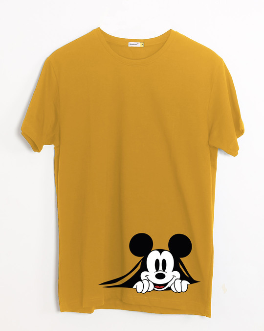 Shop Coming Through Mickey Half Sleeve T-Shirt (DL)-Front
