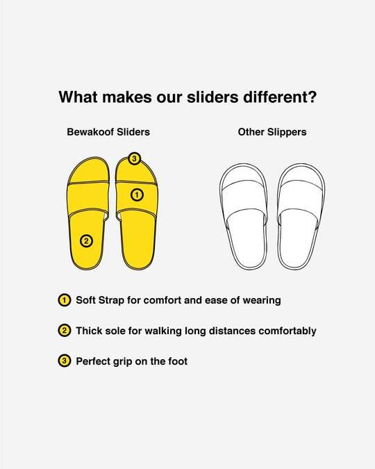 Shop Women Striped Mickey Sliders (DL)-Design