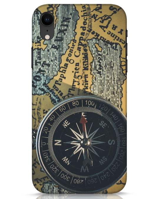 Shop Compass iPhone XR Mobile Cover-Front