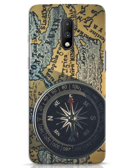 Shop Compass OnePlus 7 Mobile Cover-Front