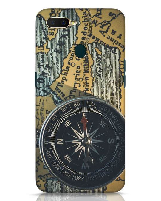 Shop Compass Oppo A7 Mobile Cover-Front