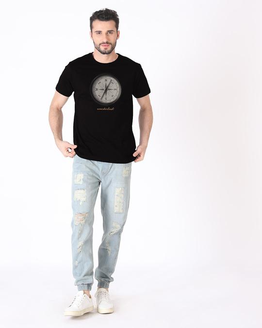 Shop Compass Wanderlust Half Sleeve T-Shirt