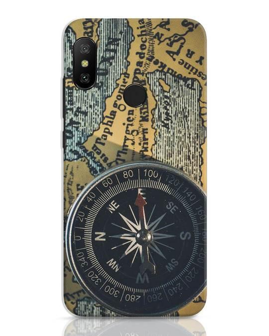 Shop Compass Xiaomi Redmi 6 Pro Mobile Cover-Front